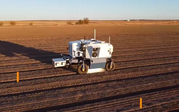 Автономный Weeder - уничтожает сорняки с помощью лазеров