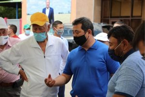 Айдарбек Сапаров с рабочим визитом в Алматинской области