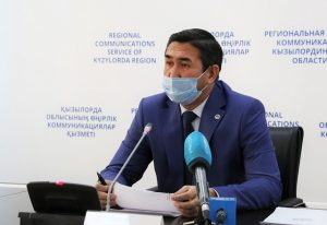 руководитель областного управления ветеринарии Ерсултан Апетов