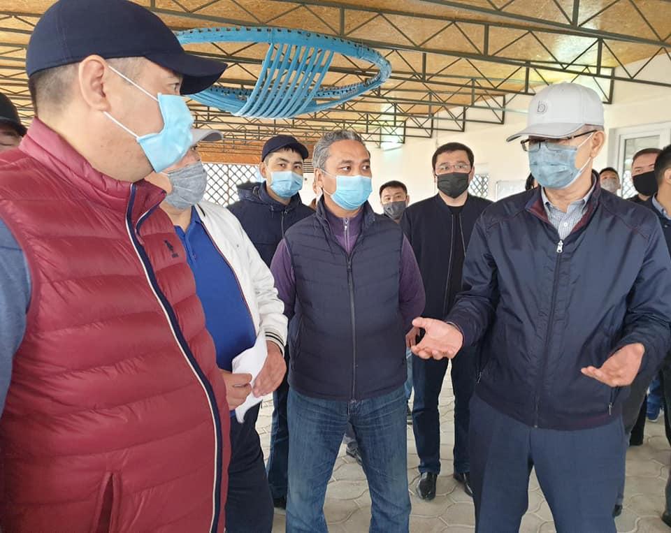 В Мунайлинском районе запустят цех по производству комбикорма