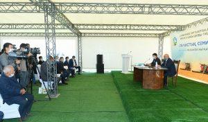 В Туркестанской области подвели итоги уборки урожая