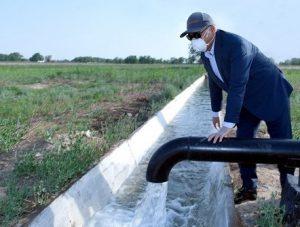 В Туркестанской области решают проблему нехватки поливной воды