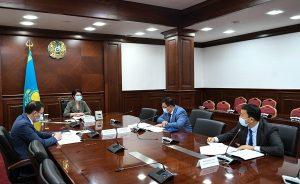 В акимате Кызылординской области обсудили подготовку к уборке осеннего урожая