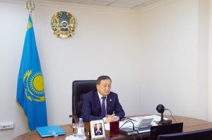 Глава МСХ РК Сапархан Омаров