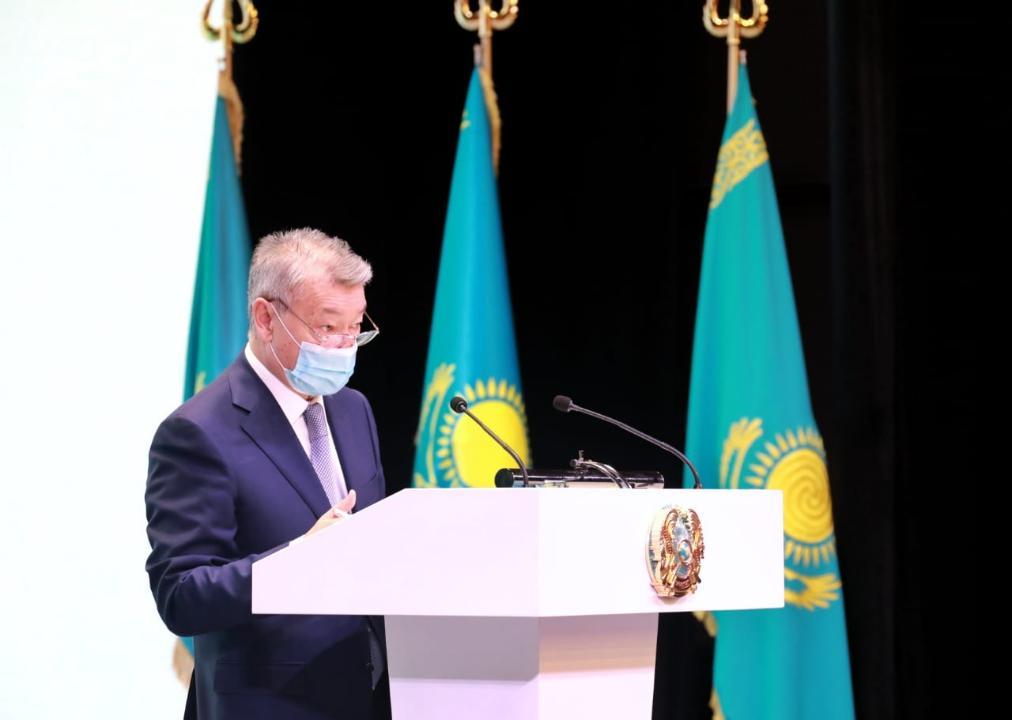 Даниал Ахметов на отчетной встрече с населением