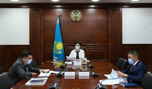 совещание в акимата Кызылординской области