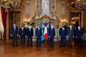 Заседание казахстанско-французской Межправительственной комиссии