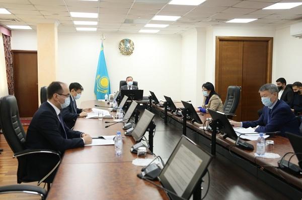 Заседании комитетов АПК и пищевой промышленности НПП «Атамекен»