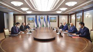 Роман Скляр с официальным визитом в Узбекистане