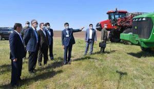 Токаев посетил Акмолинскую область