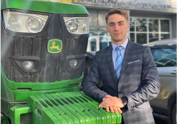 Комбайны JohnDeere убирают пятую часть урожая в стране