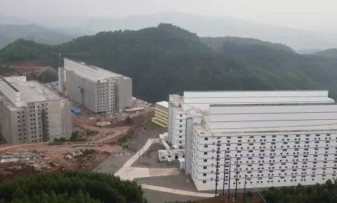 Мега-свиноферма в Китае