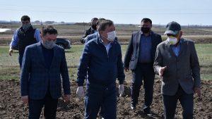 Министр сельского хозяйства РК выехал в Акмолинскую область