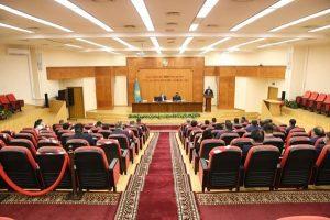 Министр сельского хозяйства Сапархан Омаров провел совещание