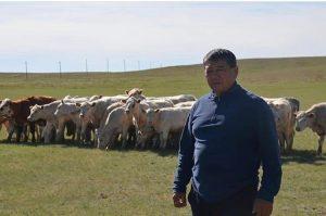 Мурат Баймаганбетов, глава крестьянского хозяйства «Жалықбас»