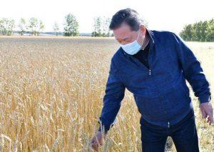 Министр сельского хозяйства в Журавлевке-1