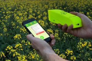 Портативный NIR-сканер для анализа посевов