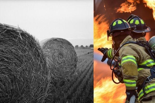 Почему происходит самовозгорание мокрого сена