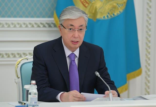 Президент РК Касым-Жомарт Токаев