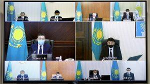 селекторное заседание правительства РК