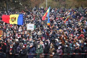 Протесты фермеров в Молдавии