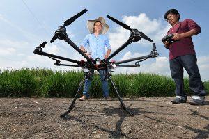 дроны для выращивания корнеплодов