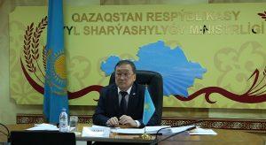 Сапархан Омаров выступил на Региональной конференции ФАО