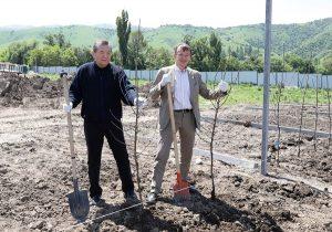 Андре Карстенс посетил учебно-опытное хозяйство Агроунверситет