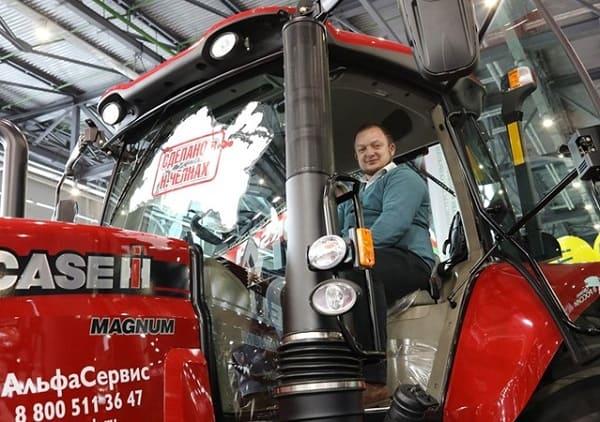 Современная сельскохозяйственная техника Case IH и New Holland была представлена на выставке «ТатАгроЭкспо» в Казани