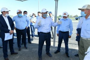 метод дождевального полива в Туркестане