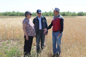 Ученые ЗКАТУ проводят почвенные обследования и консультируют аграриев
