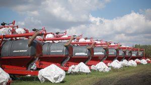 Хранение сельхозтехники зимой