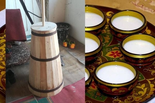 Чан для изготовления кумыса
