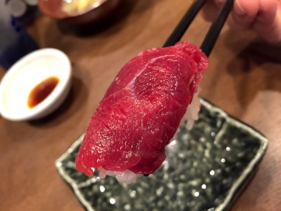суши из конины
