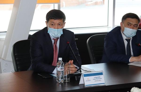 заместитель акима Алматинской области Серик Турдалиев