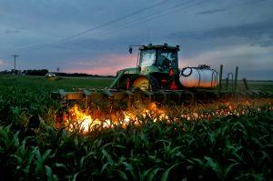 Для борьбы с сорняками — огненный культиватор