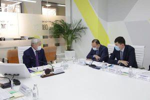 совещание СПК Тараз с участием акима Жамбылской области