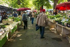торговля плодо-овощной продукцией