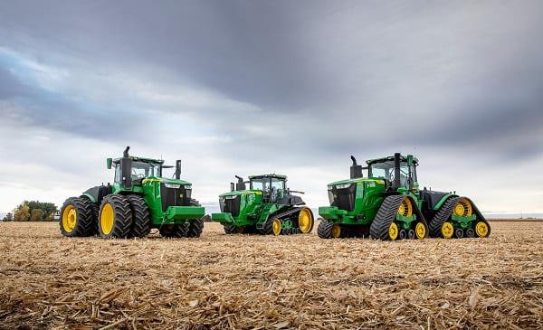 тракторы серии 9R представил John Deere