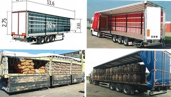 Загрузка груза в грузовом транспорте