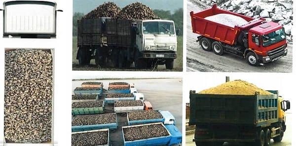 Загрузка насыпных грузов