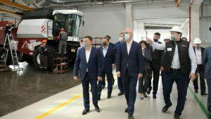 Заместитель Премьер-Министра Роман Скляр посетил производственную площадку «Kazrost Engineering»