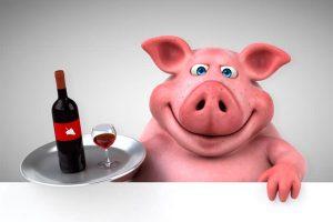 Напиться как свинья - способ улучшить качество мяса животных