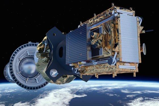 Выход спутника Sentinel-1B на орбиту