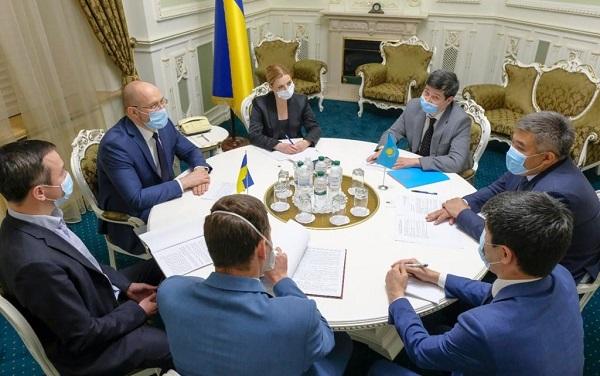 Украина и Казахстан обсудили торгово-экономическое сотрудничество