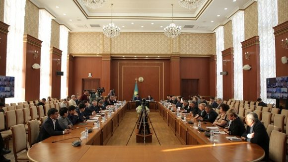 вице-министр встретился с сельхозтоваропроизводителями