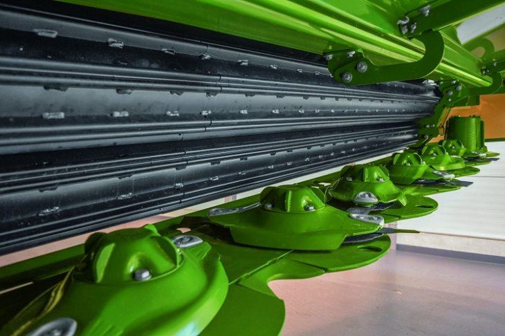 Вальцевые плющилки для высокопроизводительной косилки Big M