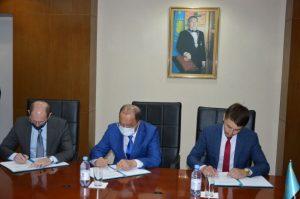 подписание договора между НАНОЦ и Агромашхолдинг
