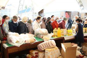 300 тонн продукции привезли жамбылские аграрии на ярмарку в столицу