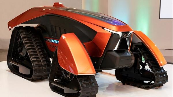 Kubota представила полностью автономный концептуальный трактор